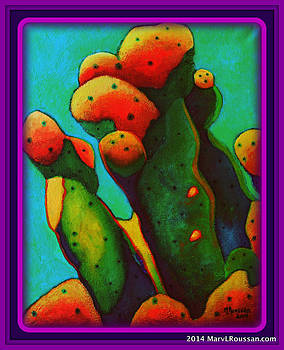 Prickly Pear II SOLD by MarvL Roussan
