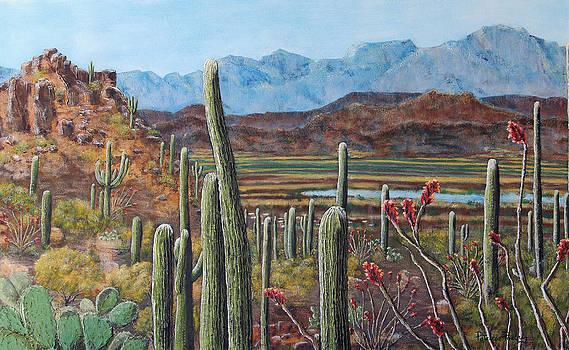 Prickly View by Patricia Pasbrig