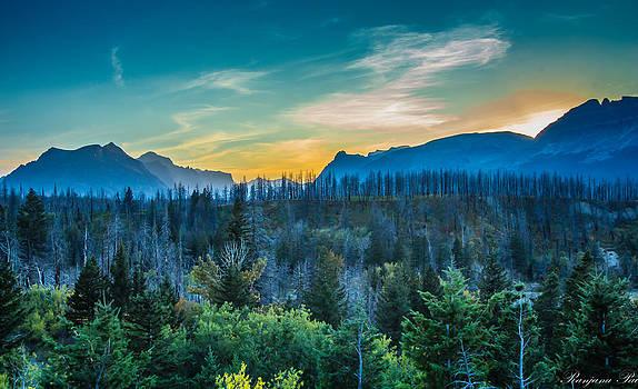 Pricky Mountains by Ranjana Pai