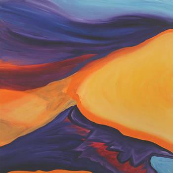 Primordial Landscape by Marilyn Fenn
