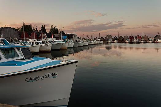 Prince Edward Island Fishing Boats by Matt Dobson