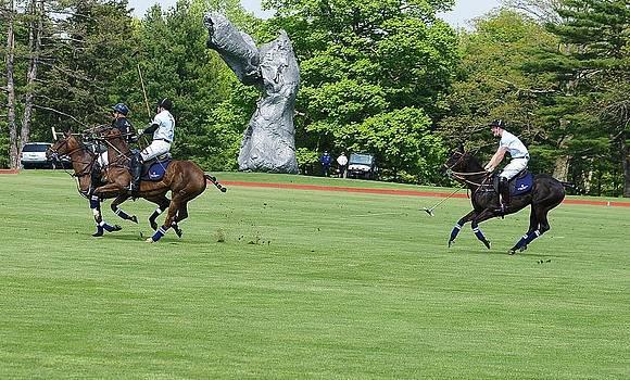 Prince Harry Polo Action by Russ Considine