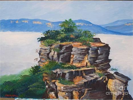 Prince henry Cliff Australia by Jean Pierre Bergoeing