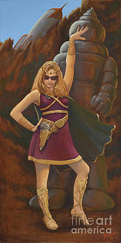 Princess Erika Ruler of the Seven Lost Planets by Charles Fennen