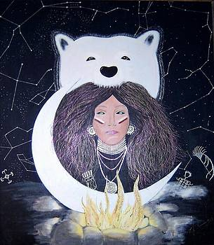 Princess Moon by Patricia Brewer-Cummings
