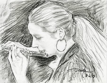Principal flutist by Horacio Prada