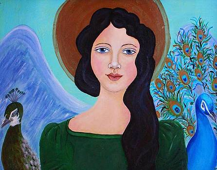 Priscilla  The Balancing Angel of Love by The Art With A Heart By Charlotte Phillips