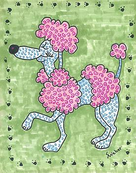 Prissy Poodle by Susie Weber