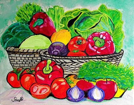 Produce by Anna Baker