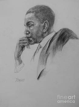 profile of president Barak Obama by Patrick Mills