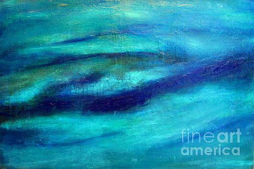 Profondeur du bleu by Carmelle Dorion