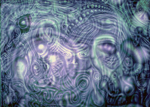 Projection Exhaled II by Leigh Odom
