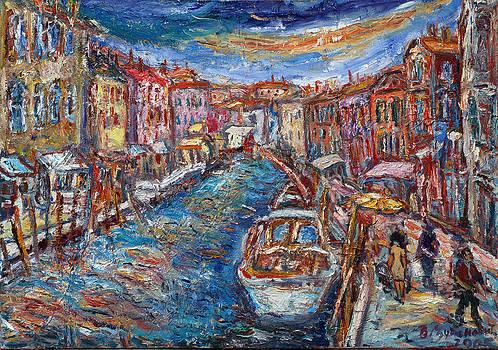 Promenade On Murano  by Borislav Djukanovic