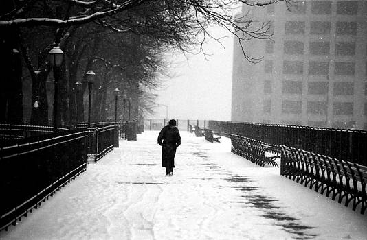 Tom Callan - Promenade Snowscene