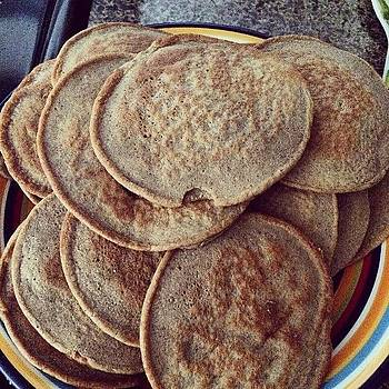 Protein  Peanut Butter #pancakes by Ann Marie Donahue