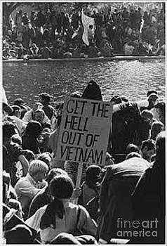 Protest of the Vietnam War by Steven  Pipella
