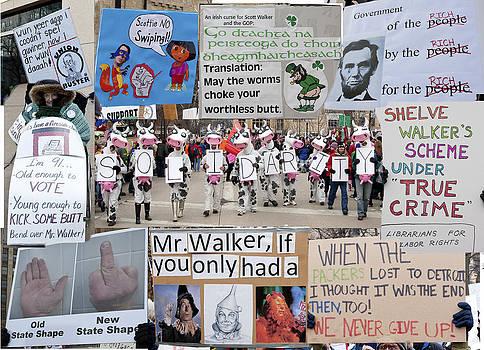 Steven Ralser - Protest signs