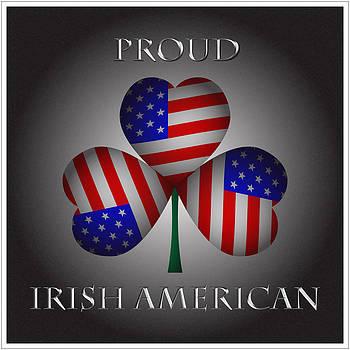 Proud Irish American Shamrock by Ireland Calling