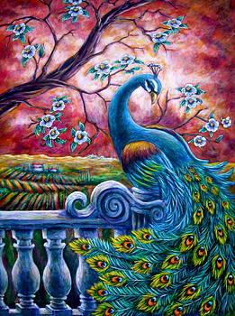 Proud Peacock by Sebastian Pierre