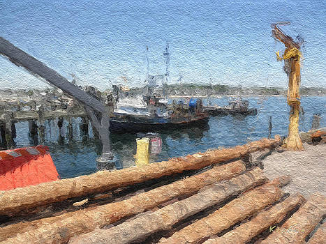 Provencetown Pier by David Klaboe