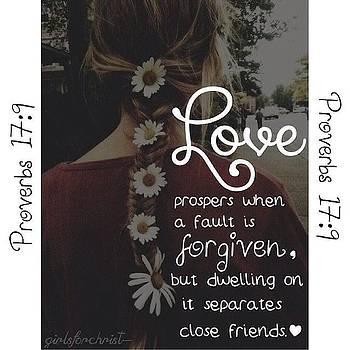 Proverbs Series #4 🎀 - love by Hannah Chapman