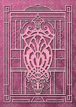 Nancy Lorene - PROVIDENCE in Rose Pink Damask