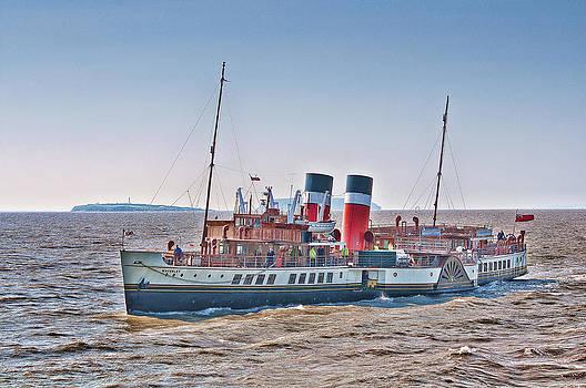 Steve Purnell - PS Waverley Approaching Penarth