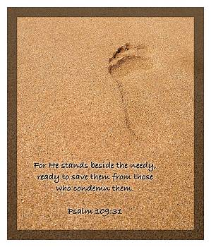 Psalm 109 31 by Scripture Pictures