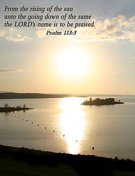 Nina Fosdick - Psalm 113 3