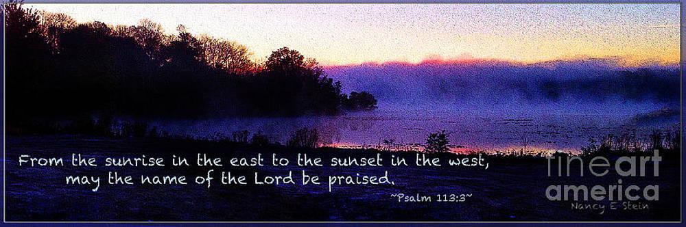 Nancy Stein - Psalm 113