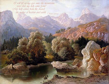 Psalm 121 1-2 by Allen Beilschmidt