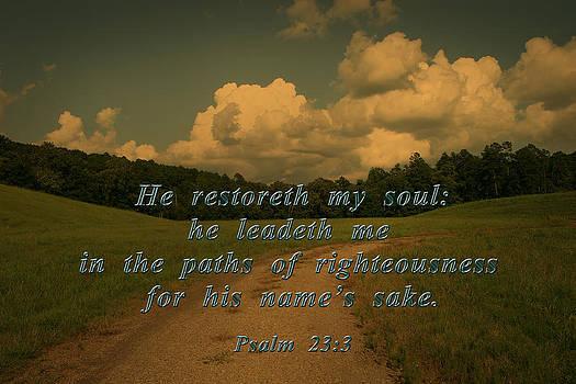Nina Fosdick - Psalm 23 3