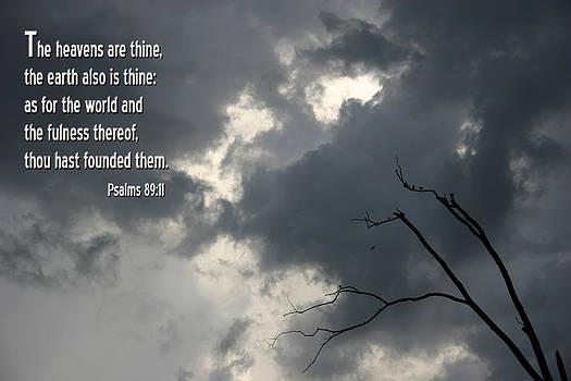 Nina Fosdick - Psalms 89 11