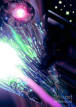 Psi Clops Space Dragon1 by Dan Sheldon