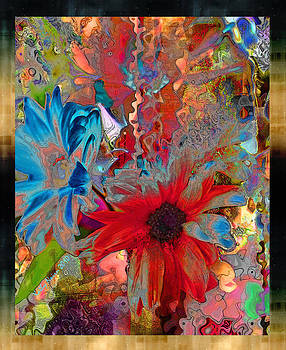 Psyched Daisies II by Kathy Nairn
