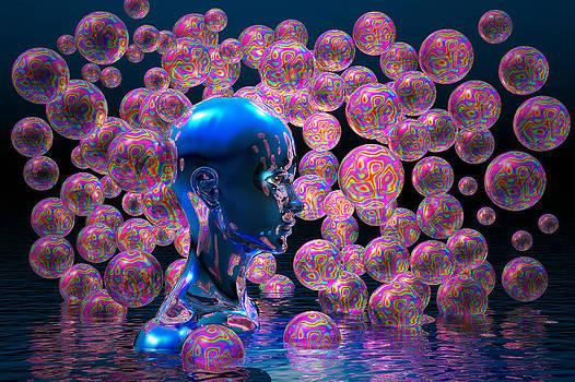 Psychedelic bubbles by Carol and Mike Werner