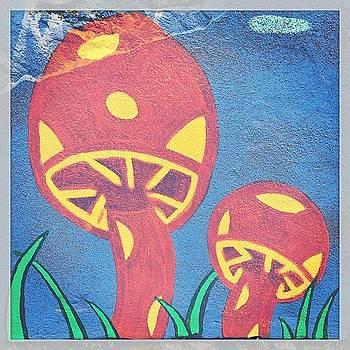 #psychedelic #mushroom #mural #nolibs by John Baccile