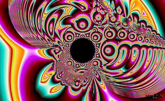 Psychedelic Swirls by Betsy Jones