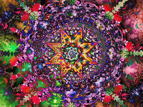 Psychedelic Symmetry by CJ Grant