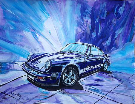 Psycodelic Porsche 911 Carrera. by Juan Mendez