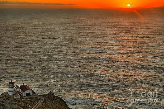 Adam Jewell - Pt Reyes Sunset Lighthouse