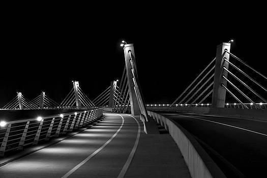 Ptuj bridge BW by Ivan Slosar