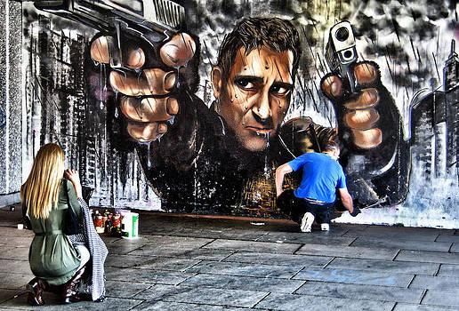 Ludmila Nayvelt - Public Art - graffiti