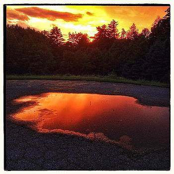 Puddle Of Fire by Paul Cutright