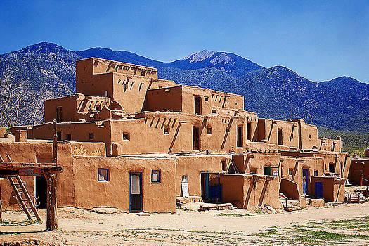 Pueblo De Taos by Katelyn Bird