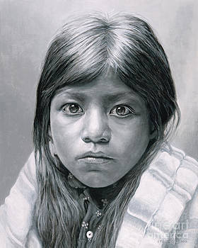 Pueblo Girl by Stu Braks