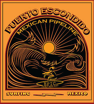 Larry Butterworth - PUERTO ESCONDIDO MEXICO SURFING