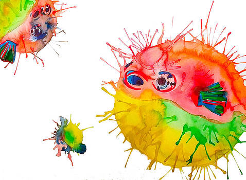 Pufferfish by Lucy Loo Wales