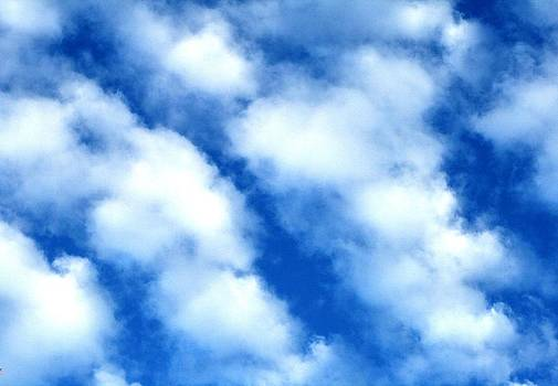 White Clouds  by Beth Andersen