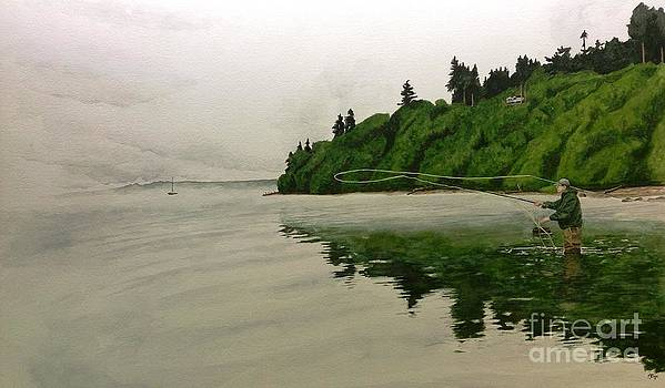 Puget Sound on the Fly by Jason Bordash